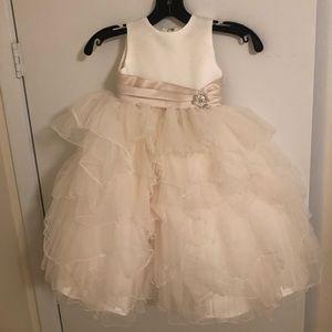 JOAN CALABRESE  flower girl dress SIZE 2T